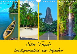São Tomé – Inselparadies am Äquator (Wandkalender 2021 DIN A4 quer) von Plastron Pictures,  Lost