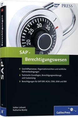 SAP-Berechtigungswesen von Lehnert,  Volker, Stelzner,  Katharina