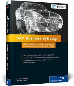 SAP Business ByDesign von Hufgard,  Andreas, Krüger,  Stefanie