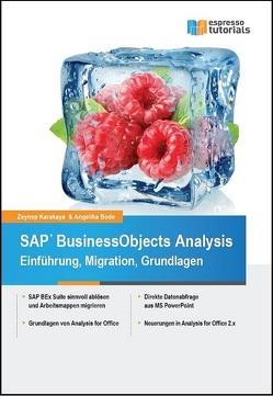 SAP BusinessObjects Analysis – Einführung, Migration, Grundlagen von Bode,  Angelika, Karakaya,  Zeynep