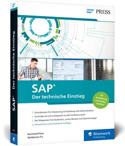 SAP – Der technische Einstieg von Fix,  Waldemar, Plota,  Reinhold