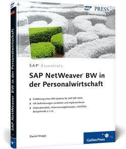 SAP NetWeaver BW in der Personalwirtschaft von Knapp,  Serge Daniel