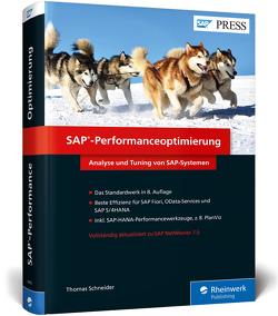 SAP-Performanceoptimierung von Schneider,  Thomas