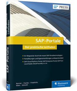 SAP-Portale von Banner,  Marcus, Franke,  Tom, Friedrichs,  Ralf, Klein,  Heinzpeter, Schroth,  Roland