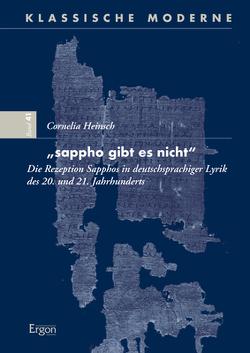 """""""sappho gibt es nicht"""" von Heinsch,  Cornelia"""