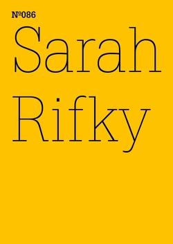 Sarah Rifky von Rifky,  Sarah
