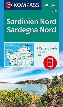 Sardinien Nord, Sardegna Nord von KOMPASS-Karten GmbH