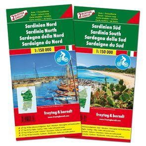 Sardinien – Cagliari, Top 10 Tips, Autokarte 1:150.000
