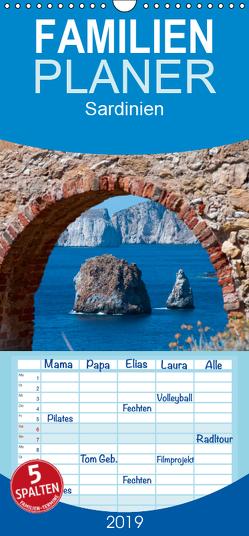 Sardinien – Familienplaner hoch (Wandkalender 2019 , 21 cm x 45 cm, hoch) von Hegerfeld-Reckert,  Anneli