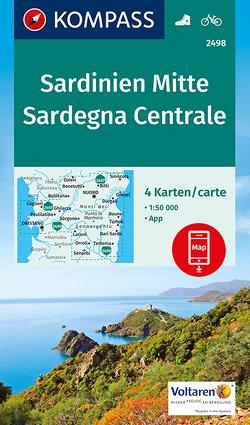 Sardinien Mitte, Sardegna Centrale von KOMPASS-Karten GmbH