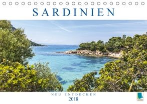 Sardinien neu entdecken (Tischkalender 2018 DIN A5 quer) von CALVENDO