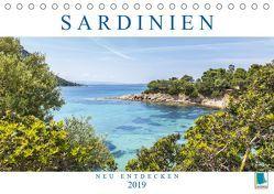 Sardinien neu entdecken (Tischkalender 2019 DIN A5 quer) von CALVENDO