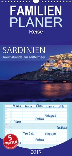 Sardinien – Traumstrände am Mittelmeer – Familienplaner hoch (Wandkalender 2019 , 21 cm x 45 cm, hoch) von Rosyk,  Patrick