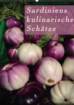 Sardiniens kulinarische Schätze (Wandkalender 2018 DIN A2 hoch) von Schiffer und Wolfgang Meschonat,  Michaela