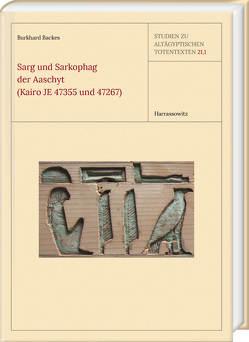 Sarg und Sarkophag der Aaschyt (Kairo JE 47355 und 47267) von Backes,  Burkhard
