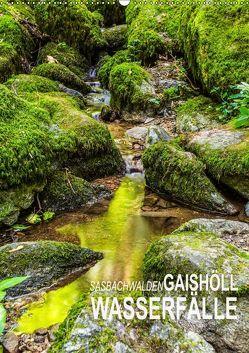 Sasbachwalden Gaishöll-Wasserfälle (Wandkalender 2019 DIN A2 hoch) von Peter,  Ansgar