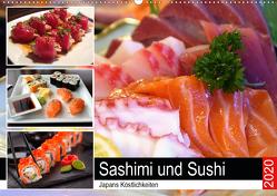 Sashimi und Sushi. Japans Köstlichkeiten (Wandkalender 2020 DIN A2 quer) von Hurley,  Rose