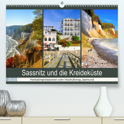 Sassnitz und die Kreideküste – Herbstimpressionen vom Hochuferweg Jasmund (Premium, hochwertiger DIN A2 Wandkalender 2020, Kunstdruck in Hochglanz) von LianeM