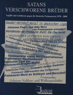 Satans verschworene Brüder von Bittner,  Wolfgang