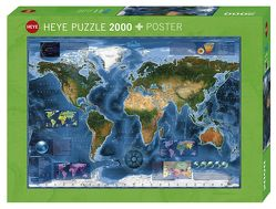 Satellite Map Puzzle von Zigic,  Rajko
