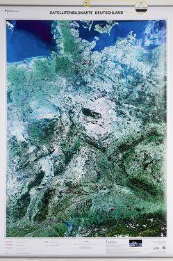 Satellitenbildkarte Deutschland 1 : 750 000 von BKG - Bundesamt für Kartographie und Geodäsie