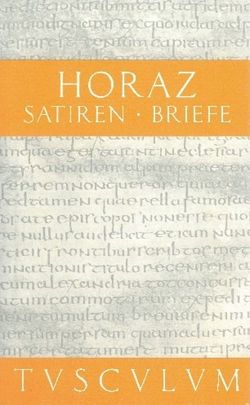 Satiren / Sermones / Briefe / Epistulae von Fink,  Gerhard, Herrmann,  Gerd, Horaz