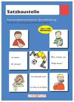Satzbaustelle von Gerwalin,  Vera, Lingoplay GmbH & Co. KG