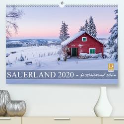 Sauerland – faszinierend schön (Premium, hochwertiger DIN A2 Wandkalender 2020, Kunstdruck in Hochglanz) von Bücker,  Heidi