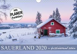 Sauerland – faszinierend schön (Wandkalender 2020 DIN A4 quer) von Bücker,  Heidi