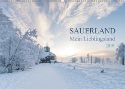 Sauerland – Mein Lieblingsland (Wandkalender 2019 DIN A2 quer) von Bücker,  Heidi