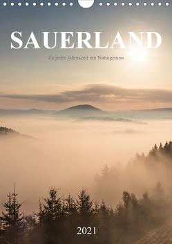 Sauerland, zu jeder Jahreszeit ein Naturgenuss (Wandkalender 2021 DIN A4 hoch) von Bücker,  Heidi