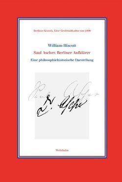 Saul Ascher. Berliner Aufklärer von Behrendt,  Marie Ch., Hiscott,  William, Schulte,  Christoph