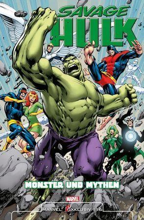 Savage Hulk von Davis,  Alan