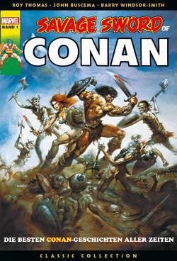 Savage Sword of Conan Classic Collection von Buscema,  John, Thomas,  Roy
