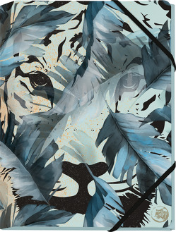 Save the Tiger Mini-Sammelmappe Motiv Tiger im Dschungel von Schöll,  Stephan