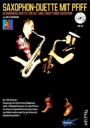 Saxophon-Duette mit Pfiff für Eb- & Bb-Stimmen – inkl. CD