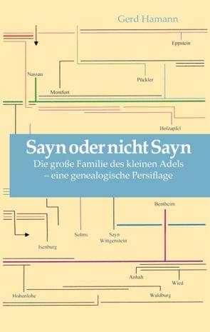 Sayn oder nicht Sayn von Hamann,  Gerd