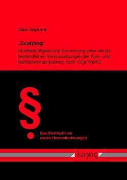 """""""Scalping"""" von Degoutrie,  Claus"""