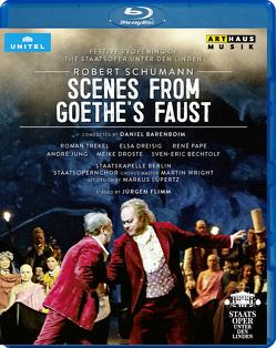 Scenes from Goethe's Faust von Barenboim,  Daniel, Schumann,  Robert, von Goethe,  Johann Wolfgang