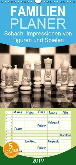 Schach.Impressionen von Figuren und Spielen – Familienplaner hoch (Wandkalender 2019 , 21 cm x 45 cm, hoch) von Lehmann (Hrsg.),  Steffani