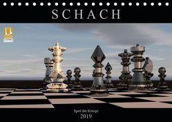 SCHACH – Spiel der Könige (Tischkalender 2019 DIN A5 quer) von Bleicher,  Renate