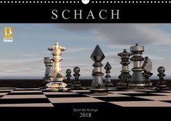 SCHACH – Spiel der Könige (Wandkalender 2018 DIN A3 quer) von Bleicher,  Renate