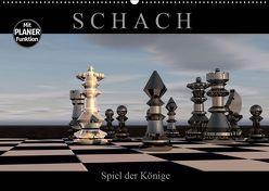 SCHACH – Spiel der Könige (Wandkalender 2019 DIN A2 quer) von Bleicher,  Renate