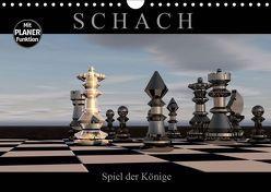 SCHACH – Spiel der Könige (Wandkalender 2019 DIN A4 quer) von Bleicher,  Renate