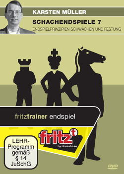 Schachendspiele 7 – Endspielprinzipien Schwächen und Festung von Müller,  Karsten