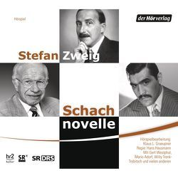 Schachnovelle von Adorf,  Mario, Trenk-Trebitsch,  Willy, Westphal,  Gert, Zweig,  Stefan