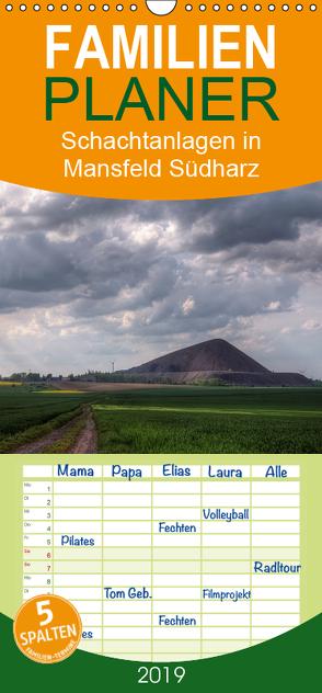 Schachtanlagen in Mansfeld Südharz – Familienplaner hoch (Wandkalender 2019 , 21 cm x 45 cm, hoch) von Gierok,  Steffen