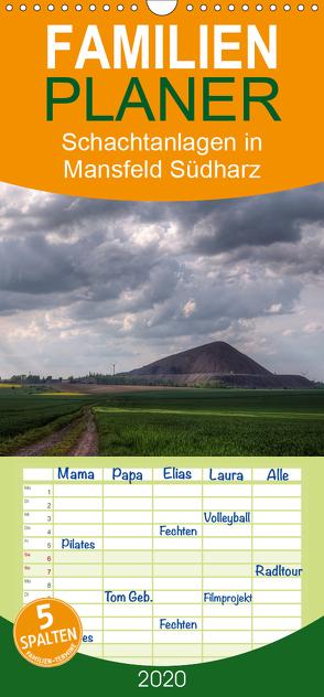 Schachtanlagen in Mansfeld Südharz – Familienplaner hoch (Wandkalender 2020 , 21 cm x 45 cm, hoch) von Gierok,  Steffen