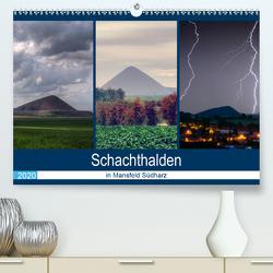 Schachtanlagen in Mansfeld Südharz (Premium, hochwertiger DIN A2 Wandkalender 2020, Kunstdruck in Hochglanz) von Gierok,  Steffen