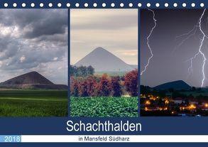 Schachtanlagen in Mansfeld Südharz (Tischkalender 2018 DIN A5 quer) von Gierok,  Steffen